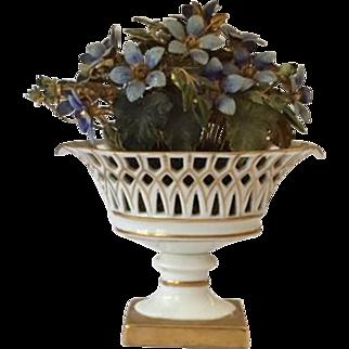 Jane Hutcheson for Gorham Fleurs des Siècles compote