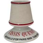 Classic French vintage pyrogene match strike, Quenot Cassis