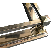 19th Century Brass Hearth Fender