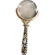 Ladies Vintage Magnifying Glass