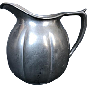 Old Colony Pewter Pitcher, 1930's