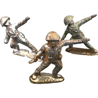 Vintage Toy Lead Soldiers