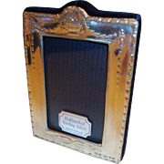 New Boxed Sterling Silver Hallmarked Frame with An Urn of Fruit, Robert Carr Ltd.