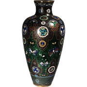 Beautiful Antique Chinese Export Cloisonne Vase