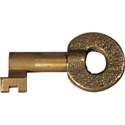 Norfolk & Western Railroad Brass Switch Key