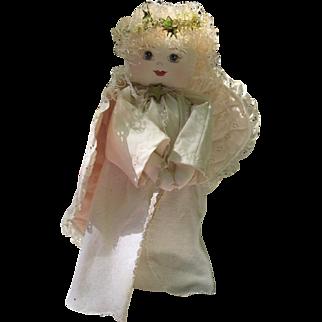 Art Doll Angel Handmade Wings OOAK by Barbara Naylor