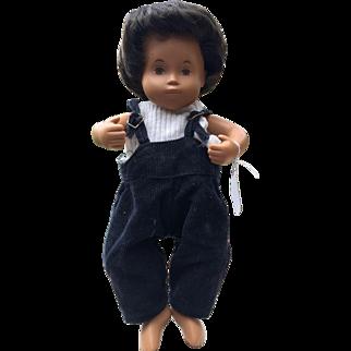 Sasha Morgenthaler Doll Little Boy in corduroy overalls