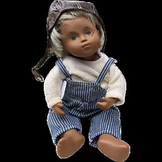 Sasha Morgenthaler Doll Little Boy in pilot cap