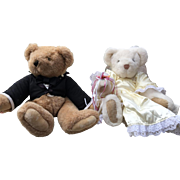 Vermont Teddy Bear Wedding Bears Bride and Groom
