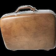 Vintage Midcentury Samsonite Hard Case Carry On Suitcase - Excellent Condition