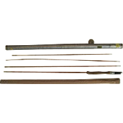 "Lot #207 -Phillipson ""Pacemaker"" Bamboo Fly Rod 3PC w/Extra Tip - 8 1/2 Ft"
