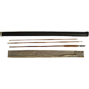 "Lot #211 -1940's ""Cook's Gunnison"" - 8 1/2 Ft 3PC Bamboo Fishing Fly Rod"