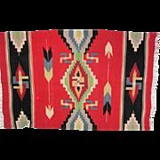 """Navajo Germantown Blanket - 67"""" Long"""