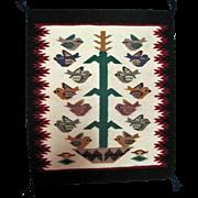 "Navajo Pictorial Rug - 20 1/2"" Long"