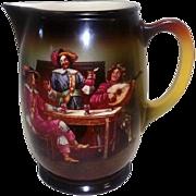 Erphila Art Pottery 1920's-30's Pitcher - Czeckoslavakia