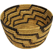 "Large Pima Olla Basket - 6 3/4"" Diameter"