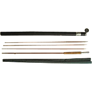 "Lot #212 -Phillipson ""Paragon"" 3PC Bamboo Fly Rod w/Extra Tip - 8 1/2 Ft"