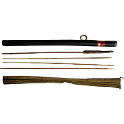 Lot #213 - Sport King Model 64 -Tonkin Cane 3PC w/Extra Tip Bamboo Fly Rod -8'6""