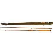 "Lot #217 -Montague 2PC ""Monterey"" Split Bamboo Fly Boat Rod - 7 1/2 Ft"