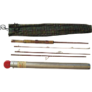 "Lot #220 -Fenwick ""Voyageur"" Faralite G167154 4PC - Fiberglass Fishing Rod - 7Ft"