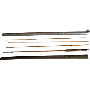 Lot #221 -South Bend 323 - 3PC Bamboo Fly Rod w/Extra Tip - 8 1/2 Ft