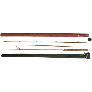 "Lot #222 -Airtex Skinning Rod ""Light"" 2PC w/Extra Tip 7ft Bamboo Fly Rod"