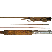 "Lot #223 -Horrocks & Ibbotson ""Commodore"" 3PC Bamboo Fly Rod with Extra Tip -9 Ft"
