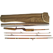 "Lot #228 -Wright & McGill ""Trailmaster"" 4PC Fiberglass Fishing Rod - 6 1/2 FT"
