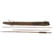 "Lot #230 -Wright & McGill ""Broadcaster"" 8FT 3PC Split Bamboo Fly Rod"