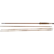 """Lot #236 -Antique 3PC Bamboo Fly Rod w/Extra Tip - 104"""" Long"""