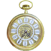 Lot #916 Art Noveau - Sovereign 1 Jewel Pocket Watch - Great Working Condition
