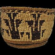 Maidu Indain Coiled Basket California
