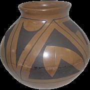 "Mata Ortiz Pottery by Luis Ortiz w/Black Patterns - 6"" Tall"