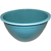 Old Fiesta #6 Mixing Bowl - Turquoise
