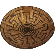 """Pima Basket - 1 3/4"""" tall and 7 3/4"""" in diameter"""