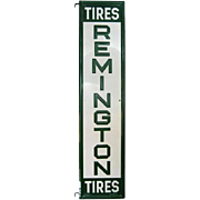 "Remington Tires Sign - Double Sided - 59 1/2"" L x 14"" W"