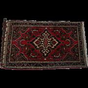 "Lot #1 Basiran - Genuine Oriental Rug - ""Super Lilahan Poshtie"" - 40 x 24 1/4"