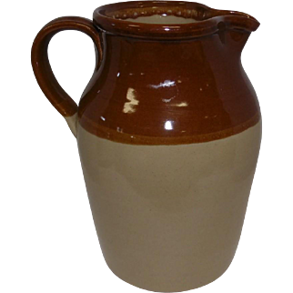 """Pearson's of Chesterfield - Crock Pitcher 1 Gallon - Made in England - 11"""" Tall"""