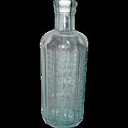Atwood's Jaundice Bitters Bottle - 12-Sided