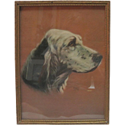 1938 Alpnarly Lyster - English Setter Dog Print