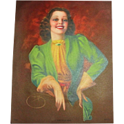 "1930's - 40's #979 ""A Smile Worth While"" Print"