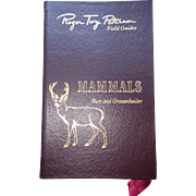 Peterson Field Guide - Mammals - Published 1996 - Author: William Burt (08)