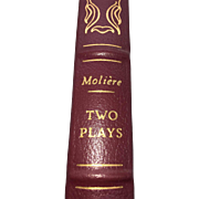 Two Plays by Moliere - Published 1980 - (Book 85)
