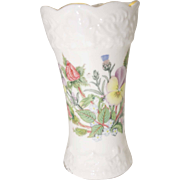 Aynsley Fine Bone China - Wild Tudor Pattern - Mini John Aynsley Vase