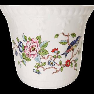 Aynsley Fine Bone China - Pembroke Pattern - Small John Aynsley Planter - Made in England