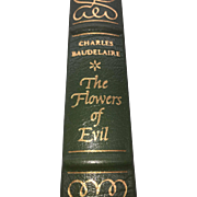The Flowers of Evil by Charles Baudelaire - Published 1977 - (Book 118)