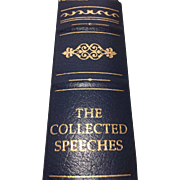 The Collected Speeches by Margaret Thatcher - Signed First Edition - Published 1998 - (Book 127)