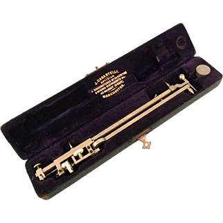 Antique Cased J. Casartelli Planimeter