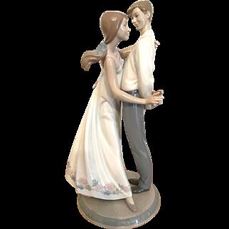 Large Lladro Figurine 6746 Love's Little Surprises