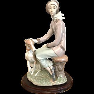 Large Lladro Figurine 6610 A Faithful Companion